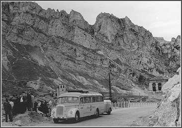 Bus in Spanien